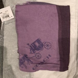 Coach scarf new with tags